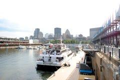 Le centre ville de Montréal photos libres de droits