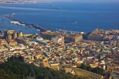 Le centre ville de Naples, Italie Photo stock