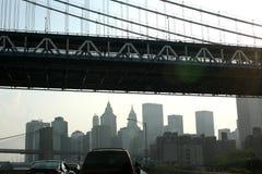 Le centre ville de New York Images libres de droits