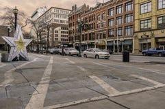 Le centre ville de Syracuse photographie stock