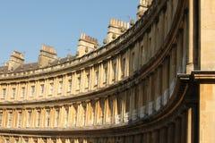 Le cercle, Bath, Angleterre, R-U Photos libres de droits