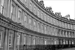 Le cercle, Bath, Angleterre, R-U Photos stock