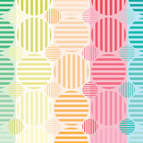 Le cercle colore le fond Image stock