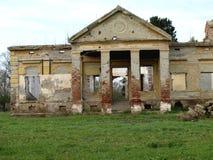 Le château abandonné Photo libre de droits