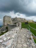 Le château antique Images libres de droits