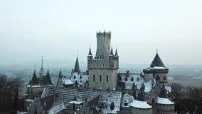 Le château antique de Marienburg près de Hanovre, Allemagne clips vidéos