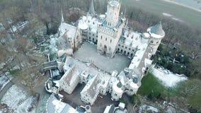 Le château antique de Marienburg près de Hanovre, Allemagne banque de vidéos
