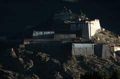 Le château antique tibétain Image libre de droits