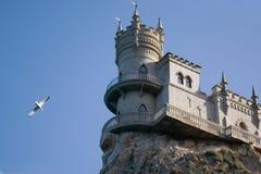 Le château bien connu Images libres de droits