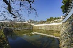 Le château blanc de héron - Himeji Image libre de droits