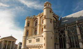 Le château d'en Laye de St Germain, région de Paris, France photo libre de droits