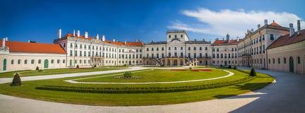 Le château d'Esterhazy dans Fertod, Hongrie Photo libre de droits