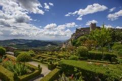 le château dans le marvao, Portugal photographie stock libre de droits