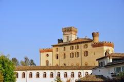Le château de Barolo Photo libre de droits