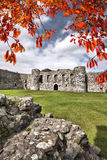 Le château de Beaumaris dans Anglesey, Pays de Galles du nord, Royaume-Uni, série de Walesh se retranche Images stock