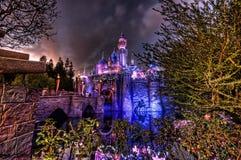 Le château de beauté de sommeil Photos libres de droits