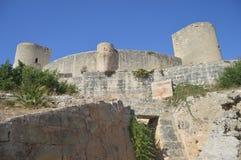 Le château de Bellver photo stock