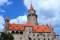 Le château de Bouzov images stock
