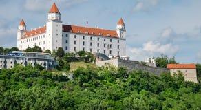 Le château de Bratislava Photographie stock libre de droits