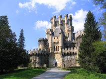 Le château de Butron Photo stock