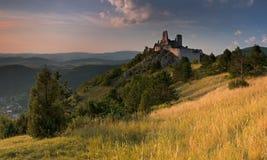 Le château de Cachtice Photos libres de droits
