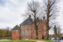 Le château de Cannenburgh est un château du 16ème siècle dans Vaassen Photo stock