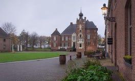 Le château de Cannenburgh est un château du 16ème siècle dans Vaassen Photographie stock