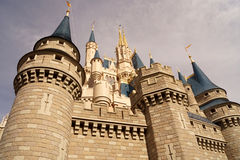 Le château de Cendrillon Image libre de droits