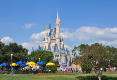 Le château de Cendrillon - monde de Disney Images libres de droits