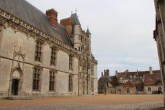 Le château de Châteaudun - France Photographie stock
