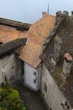 Le château de Chillon (Chateau de Chillon), Suisse photographie stock