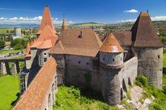 Le château de Corvin Image libre de droits