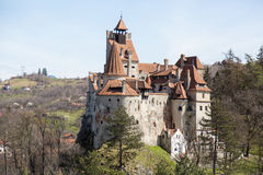 Le château de Dracula Photo libre de droits