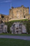 Le château de Durham gardent photo libre de droits