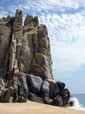 Le château de falaise photographie stock