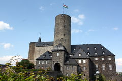 Le château de Genoveva Photos stock