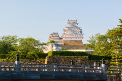 Le château de Himeji est un complexe japonais de château de sommet situé dans salut Images stock