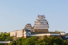 Le château de Himeji est un complexe japonais de château de sommet situé dans salut Photo stock
