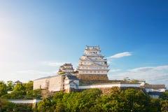 Le château de Himeji est un complexe japonais de château de sommet situé dans salut Image stock