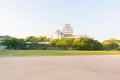 Le château de Himeji est un complexe japonais de château de sommet situé dans salut Photographie stock