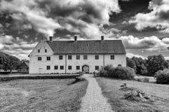 Le château de Hovdala noerhen dedans la guerre biologique de skane Image stock