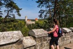 Le château de Kokorin photo libre de droits