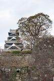 Le château de Kumamoto est un château japonais de sommet, Kumamoto dans Kumamo Photos stock