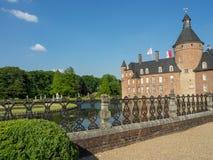 Le château de l'anholt en Allemagne photos stock