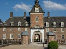 Le château de l'anholt en Allemagne image libre de droits