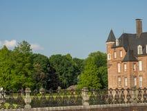 Le château de l'anholt en Allemagne images stock