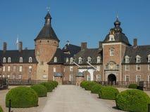 Le château de l'anholt en Allemagne images libres de droits