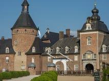 Le château de l'anholt en Allemagne image stock