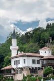 Le château de la reine roumaine par la Mer Noire dans Balchik, Bulgarie Images stock