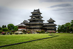 Le château de Matsumoto photo stock